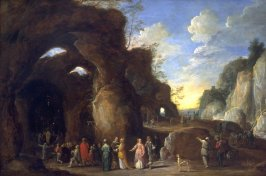 Pilgrimage to a Chapel in a Grotto
