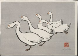 Untitled (Six Geese)