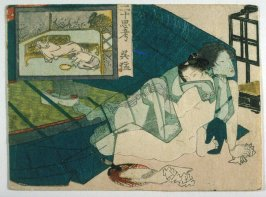 Shunga: Gomo from the series, Twenty-four Paragons of Filial Piety