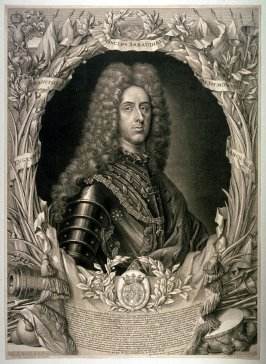 Portrait of Prince Eugene of Savoy