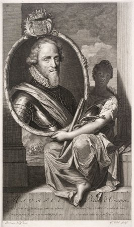 Portrait of Prince Maurits of Orange-Nassau