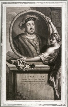 Portrait of Henry VIII, King of England.