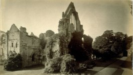 Dryburgh Abbey, from East