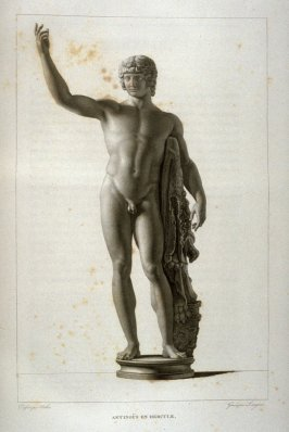 Antinous en Hercule...seventy ninth plate in the book... Le Musée royal (Paris: P. Didot, l'ainé, 1818), vol. 2