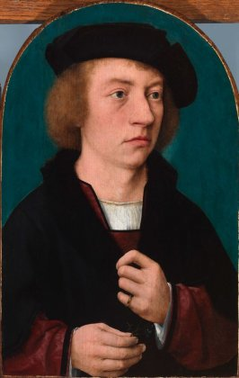 Portrait of Young Man in a Black Hat