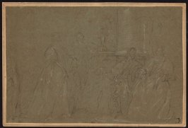 Study for a Family Gorup (possibly,