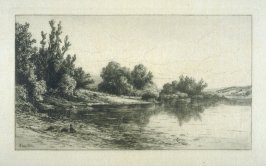On the Housatonic, plate 17 in the book, Choice Etchings (London: Alexander Strahan, 1887)