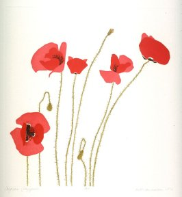 Aegean Poppies, pl. 4, from the portfolio, Poppies and Peony