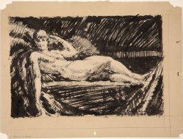 Untitled (Reclining Female Nude)