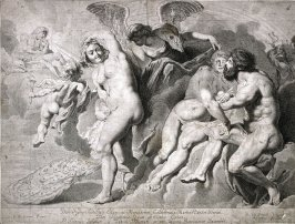 Ixion deceived by June with help of Jupiter
