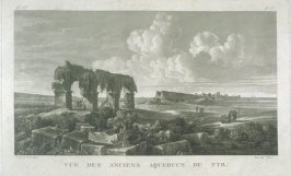 View of Ancient Aqueducts of Tyre (aft. L.F. Casses)