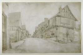 A Street in Conway seen from the Watergate