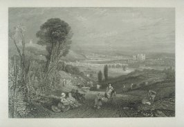 Rochester, Stroud and Chatham, from the series 'Picturesque Views in England and Wales'