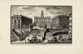 View of the Campidoglio, pl. 80 from the series Magnificenze di Roma