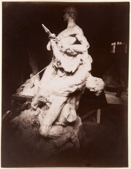 Untitled (Sculpture with Two Men)