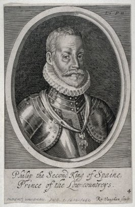 Portrait of Philip II, King of Spain, Prince of the Low Countries