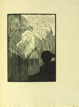Untitled, in the book Putováni malého elfa (The Wanderings of the Little Elf) by Josef Simanka (Unknown: Josef Váchal, 1911)