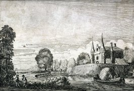 Walled Castle, from the Sixty Landscapes
