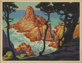 Untitled ( California Coast View) Carmel (?)