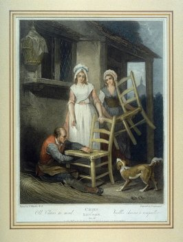 Plate 10: Old Chairs to Mend, from the series 'Cries of London'