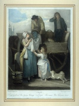 Plate 7, Fresh Gathered Peas Young Hastings from the series Cries of London