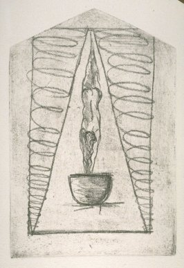 uncoil the cycles of manifestation, plate 4 in the book House of Prophecy
