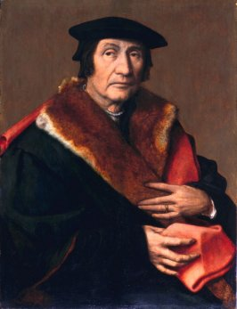 Portrait of a Wool Merchant