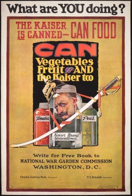 What Are YOU doing? The Kaiser Is Canned—Can Food