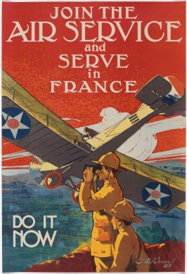 Join the Air Service and Serve in France, Do It Now