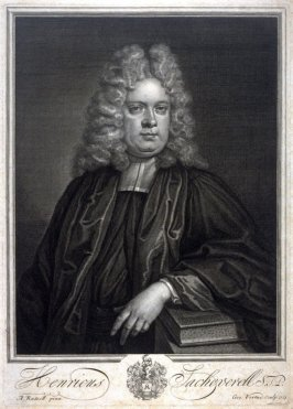 Portrait Henricus Sacheverell, after A. Russell