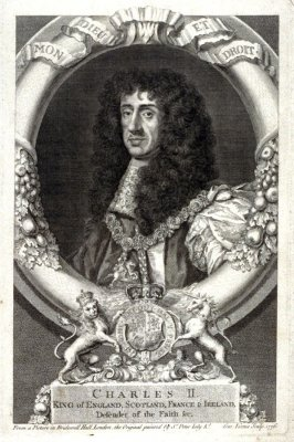 Charles II King of England, Scotland France & Ireland