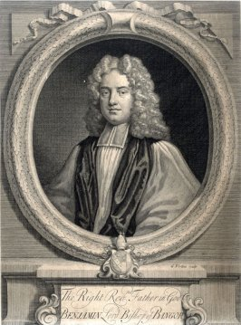 Portrait Rt. Rev. Benjamin Hoadley, lord Bishop of Bangor