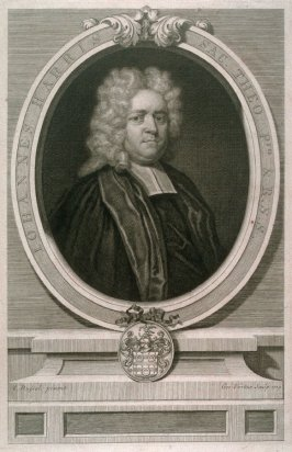 Portrait of John Harris (ex History of kent, England)