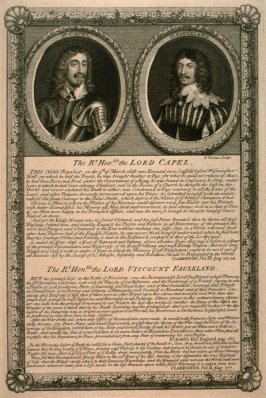 The Hon. Lord Capel / Viscount Faulkland; from the series 'Loyalists'