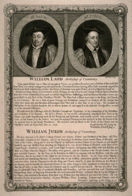 William Laud, Archbishop of Canterbury / William Juxon, Archbishop of Canterbury; from the series 'Loyalists'
