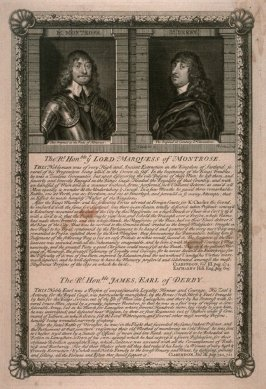 Lord Marquess of Montrose / James, Earl of Derby; from the series 'Loyalists'