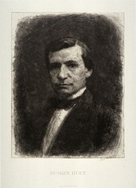 Portrait of Conrad Buster Huet (writer)