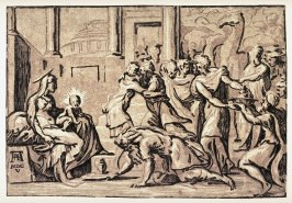 The Adoration of the Magi, after the drawing by Parmigianino