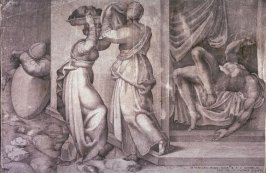 Judith Giving the Head of Holofernes to Her Servant