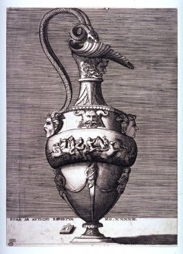 Ewer with a Bas Relief, pl. IIII from a series of different vases drawn after the antique
