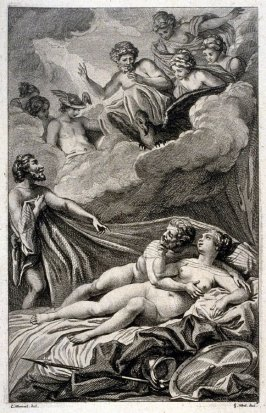 Lovers Observed by the Gods