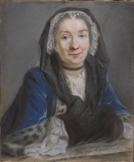 Portrait of the Artist's Mother (Madame Alexandre Vigée, née Marguerite Trouvery)