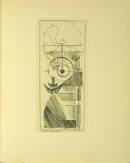 Untitled image (coffee mill) between pages 78–79 in the book Du cubisme by Albert Gleizes and Jean Metzinger (Paris: Compagnie Française des Arts Graphiques, 31 July 1947), 1921