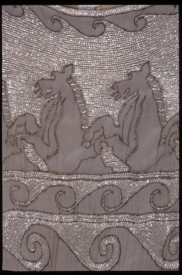 "Evening dress ""Grecian Horses"""