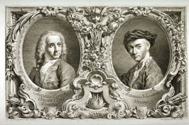 Double Portrait of Canaletto and Visentini, from the series Urbis Venetiarum Prospectus Celebriores, Part I