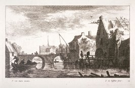 [One of a set of 11 landscapes and seascapes (Plate 12)]