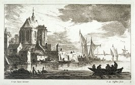 [One of a set of 11 landscapes and seascapes (Plate 3)]