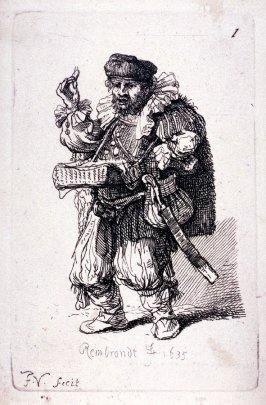 [Man with basket hanging from neck](Copy)