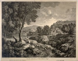 Landscape after Gaspar Poussin