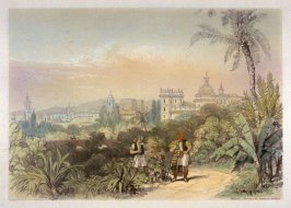 Valencia - View from the Botanical Garden